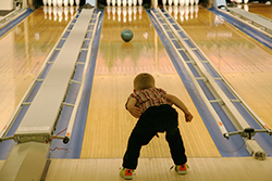 Child bowler